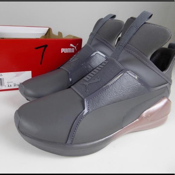 d6e7ff8ad960e8 Puma Fierce Chalet Booties Sneakers Shoes NIB Gray